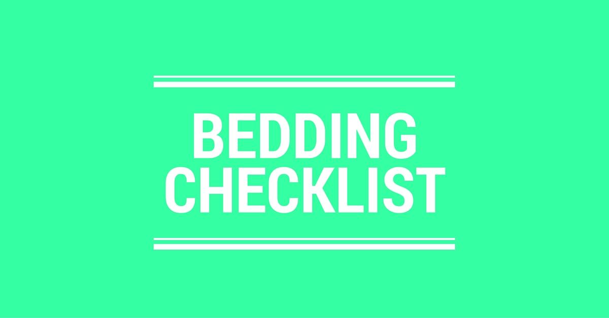 Bedding Checklist Logo