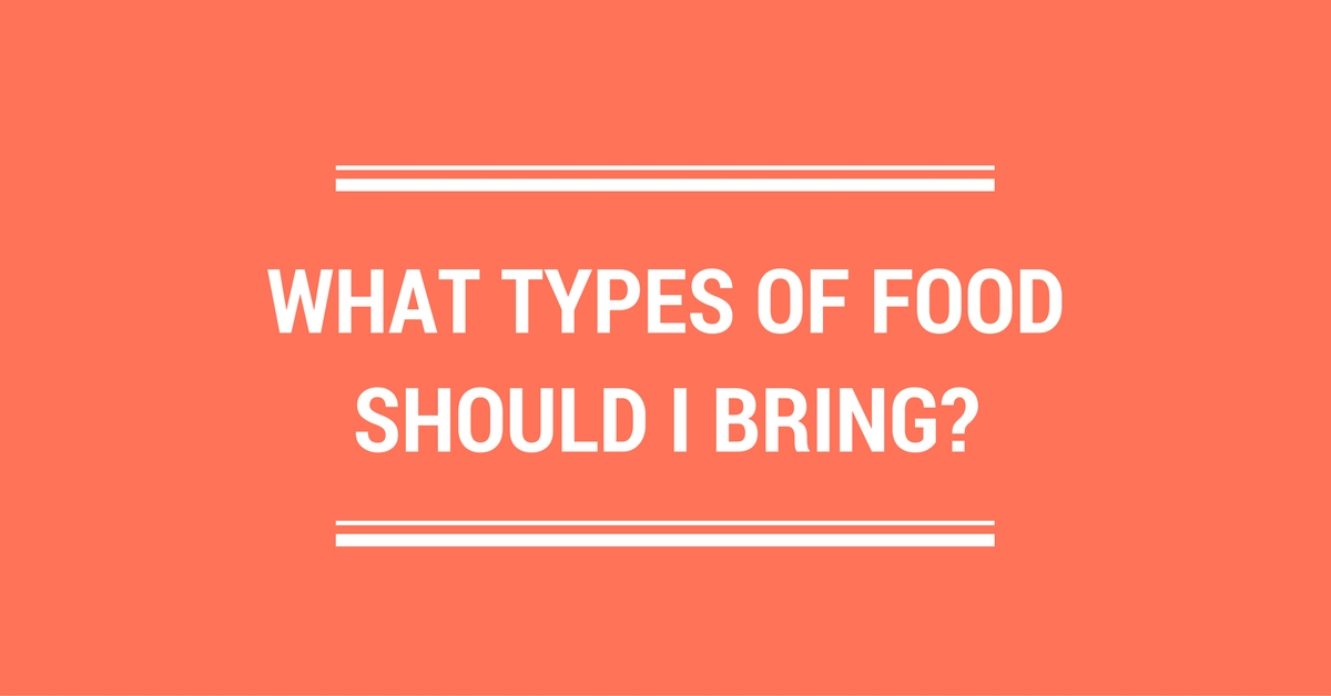 What types of food should I bring?