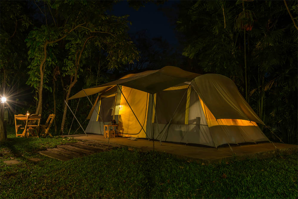 Best tents with air conditioning ports - AC Access